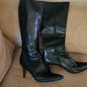 Ann Taylor leather boots